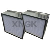 Spary Room Fine Diaphragm Air Hepa Type Filter Aluminum Separator High Air Flow Rate Manufactures