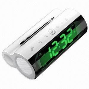 China LED Alarm Clock with Speaker and Radio on sale