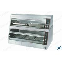 China Commercial Food Warmer For Hot Display Showcase , Free Standing on sale