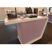 Supermarket Fashion Makeup Display Cabinet Cosmetic Retail Counters Design Manufactures