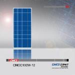 100W Solar Panel (CNCC100W 12) Manufactures
