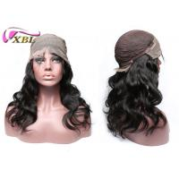 China Unprocessed Natural Human Hair Wigs For Black Women With Combs And Clips Inside wholesale