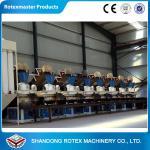 Complete wood pellet production line , wood pellet making machine large capacity Manufactures