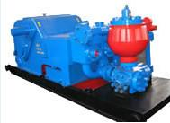 API standard Horizontal triplex single acting piston drilling Mud Pump for oilfield drilling well Manufactures
