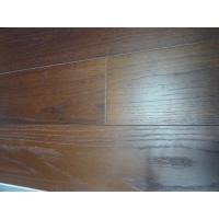Fumed Red Oak Engineered Flooring(UV lcauer, brushed) Manufactures