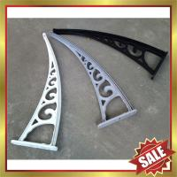 engineering plastic awning support,canopy bracket,awning arm,super durable! Manufactures