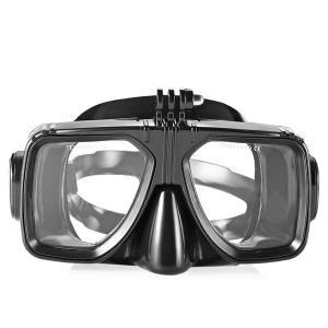 Easybreath Optical Lens Black Color Adult Diving Mask For Snorkeling , PC Frame Manufactures