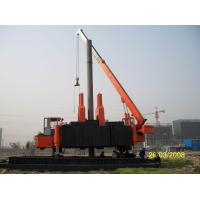 China Customized Hydraulic Static Hammer Pile Driver for Construction Site on sale