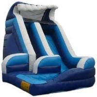 Large Amusement Park Toys , Kids And Adults Inflatable Commercial Water Slides For Riders Manufactures