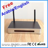 Quality Android 4.2.2 quad core XBMC arabic iptv box with 800+ free english channels install in arabic iptv for sale