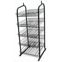 5 Wire Whelves Shop Display Stands Supermarket Wire Display Racks Manufactures