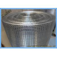 Hot Dipped Electric Galvanized Welded Wire Mesh Stainless Steel SGS Approved Manufactures