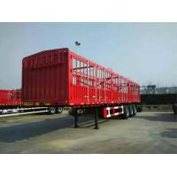 CIMC Stake Cargo Container Trailer 50 Tons Capacity High Bed Long Van Type Manufactures