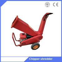 6.5HP gasoline engine small tree branch chipper wood logs shredder Manufactures