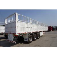 tons per 40ft container fence semi trailer in truck trailer - CIMC Manufactures