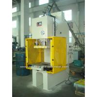 China PLC Drive Sheet Hydraulic C Type Power Press Machines with Large Capacity on sale