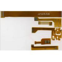 3 Mil 1.6MM OSP Single Layer FPC PCB With Yellow Film Outline Tolerance Manufactures