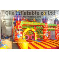 Quality large inflatable slide inflatable Disneyland castle inflatable slide for sale