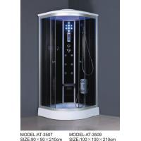 Electronic system power shower cubicles Complete 4 massage Jets 6 legs Manufactures