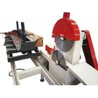 China Woodworking machinery Sliding Table Circular saw/ Double Blades Circular Sawmill on sale