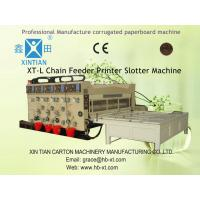 Electric Rotary Die-Cutting Machine , Color Printing Slotting Machine Manufactures