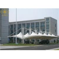 Warehouse Car Parking Shade Steel Frame PVDF Coated Car Parking Sun Shade Canopy Manufactures