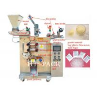Spice Granule Packaging Machine For Plastic Pouch Seeds , Sugar Packing Machine Manufactures