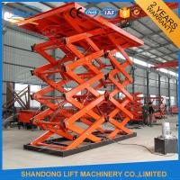 3T 5M 10M Fixed Hydraulic Car Lift Manufactures
