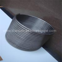 Quality Stainless steel coil for Boiler heat exchange/ titanium coil for Boiler heat exchange for sale