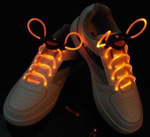 Blue Nylon LED Flashing Shoelace Manufactures