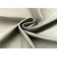 Poly Cotton Trench Coat Fabric Coated Cotton Fabric 4/2 Right Twill For Autumn And Winter Coat Suit Manufactures