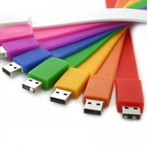 China Rubber Wristband USB Flash Drive, 4GB 8GB Personalized Logo Memory Stick on sale
