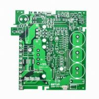 White silkscreen Rigid Pcb Board with Immersion Gold 1 - 18 Layer IPC-A-610D