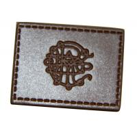 China leather elbow patches for sweaters , custom leather patches for jackets on sale