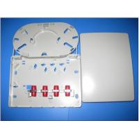 Indoor Fiber Wall Socket Fiber Optic Termination Box With ABS Plastic Fibre Wall Outlet Manufactures