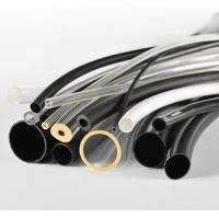 China Black PVC Tubing For Electric Cable , Flexible Reinforced PVC Tubing on sale