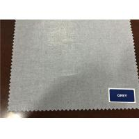 Quality Plain 80% / 20% Cotton And Polyester Fabric For Men Women Clothes for sale