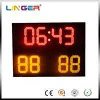 Small Ultrathin Full Color Electronic Soccer Scoreboard With Wireless Control Manufactures