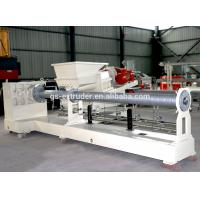 Plastic Recycling Pellet Machine , Single Screw Extruder Recycling Granulator Machine Manufactures