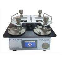 China ISO 12945-2 ASTM D4966 Textile Testing Equipment Martindale Abrasion And Pilling Tester on sale