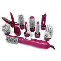 DC Motor Heated Styling Brush , Hot Rotating Hair Styler Temperature Control Manufactures