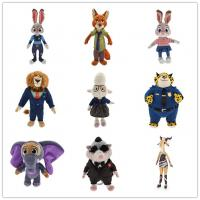 Brown and Green Zootopia Disney Plush Toys Stuffed Animals Soft Material Manufactures