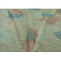 China Flame Retardant Berber Fleece Fabric Multicolored Print For Sheet / Clothing Farland on sale