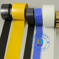 PU PVC PET plastic label printing gold hot stamping foil on date coder machine Manufactures