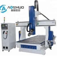 China 4 Axis Woodworking CNC Router Machine 1325 , Industrial Routers Woodworking 18KW on sale
