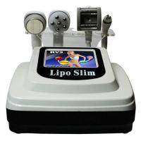 60Hz Tripolar RF Beauty Machine For Lipo Cellulite Reduction / Cavitation weight loss Manufactures