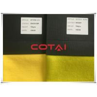 Bright Mustard Yellow Coating Wool Fabric Heavyweight Wool And Viscose And Polyester Manufactures