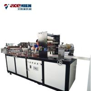 China Spandrel Pvc Wall Panel Making Machine , Eaves Wall Cladding Plastic Machinery on sale