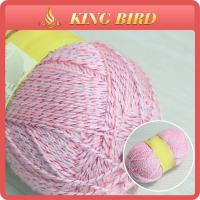 DIY Crochet  Acrylic Fancy Knitting Yarns Multi Color Dyed Manufactures