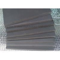 Quality Anti Corrosion Rubber Sound Absorbing Foam Black 50mm Thickness Acoustic Foam Panels for sale